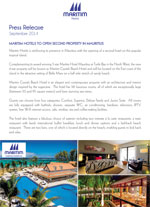 Maritim Hotels to open second property in Mauritius